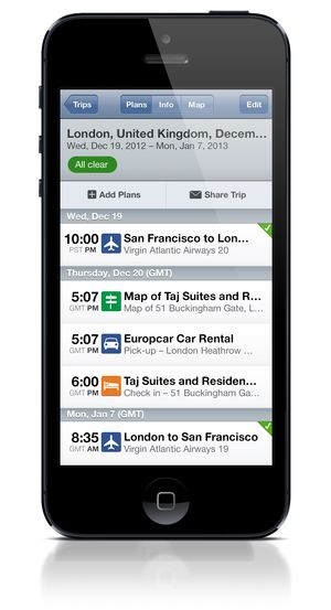 IPhone5_TripIt_itinerary